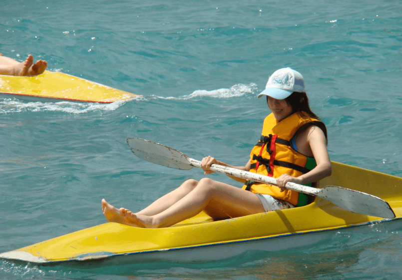 划獨木舟的初體驗
